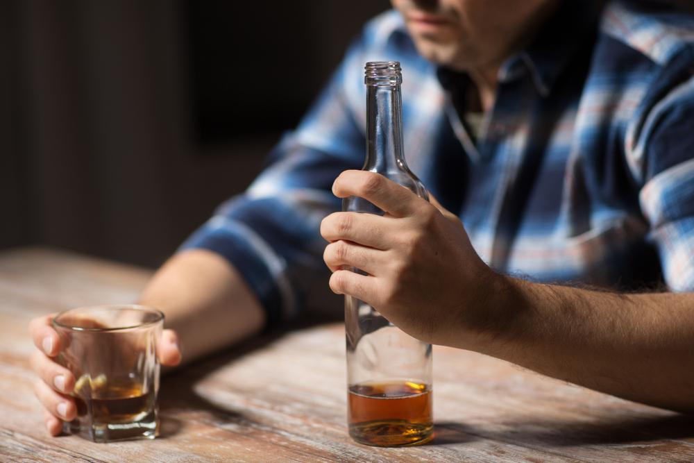 I sintomi dell'alcolismo